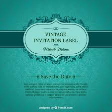 Id Card Design Psd Free Download Green Wedding Invitation Card Vector Free Download