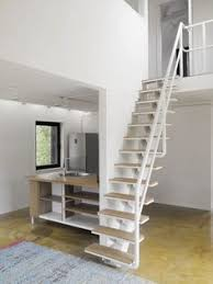 the karina compact stair system from stairkit com makes attics