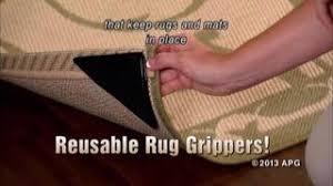 Corner Rug Grippers Ruggies Amazing Reusable Rug Grippers Set Of 8 Bed Bath U0026 Beyond