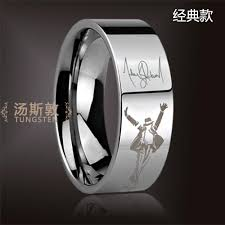 michael jackson wedding ring free shipping and free engraving michael jackson memorial ring