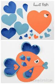 fish valentines heart animals housing a forest