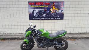 2012 kawasaki ninja 650 ex650 ex for parts used moto part