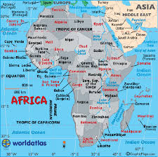 africa e asia mappa geographically is part of asia or africa if both where is