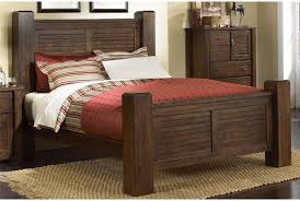 Bedroom Set Consist Of Canyon Queen Poster Bed At Living Spaces Furniture Pinterest
