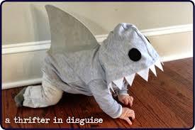shark halloween costume a thrifter in disguise diy shark costume from a hooded sweatshirt