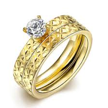 cheap gold wedding rings discount gold wedding rings for couples 2017 gold wedding