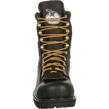 s boots with laces steel toe waterproof lace to toe work boot gbot078