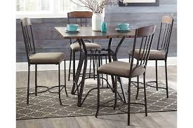 zanilly counter height dining room table ashley furniture homestore