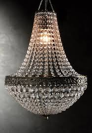 Christal Chandelier Chandelier 25in With Lighting Kit