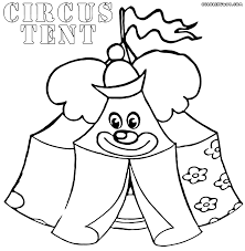 summer camp tent sleeping bag coloring page in eson me