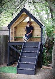 Best  Wooden Fort Ideas On Pinterest Diy Tree House Diy - Backyard fort designs