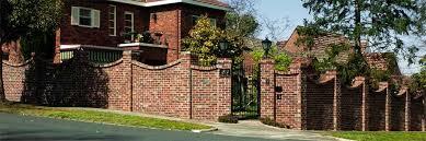 Perfect Patio Wall Design Ideas Patio Design  Brick Wall - Brick wall fence designs