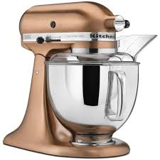 Kitchenaid Mixer Colors Kitchenaid Custom Metallic 5 Qt Satin Copper Stand Mixer