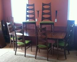 Mid Century Dining Table And Chairs Mid Century Dining Set By Kent Coffey Perspecta At Epoch