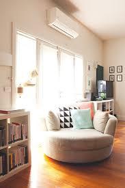 round swivel chair ashley furniture mindy indigo oversized accent