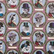cat wrapping paper aristocratic cat gift wrapping paper and