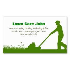 Landscape Business Cards Design Lawn Care Grass Cutting Business Card Lawn Care U0026 Landscaping