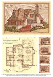 floor plan with perspective house house 301 storybook cottage by built4ever deviantart com on