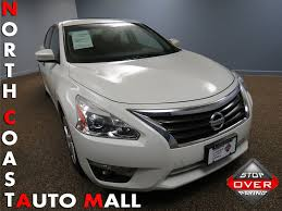 nissan canada recall check by vin 2014 used nissan altima 4dr sedan i4 2 5 sv at north coast auto