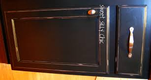 black painted kitchen cabinets painting kitchen cabinets black distressed painted in decor