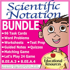 scientific notation a complete bundle with word problems by
