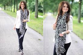 samm ascf zara blazer only black skinny h u0026m leopard scarf
