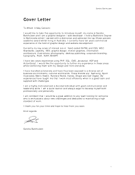 cover letter for design image collections cover letter sample