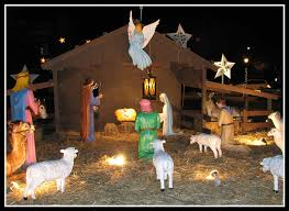 nativity outdoor christmas nativity