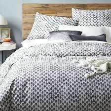 vinranka duvet cover and pillowshams ikea grey king size duvet