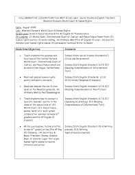 sample lesson plan format wow com image results education