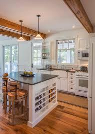 pie shape kitchen farmhouse with kitchen island traditional