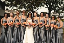 silver bridesmaid dresses bridesmaid dresses silver gown and dress gallery