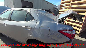 2014 Toyota Corolla Roof Rack by Parting Out 2014 Toyota Corolla Stock 6024rd Tls Auto Recycling