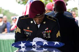 Flag Folding Meaning Burial Flags Military Com
