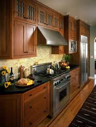 Kitchen Cabinets Craftsman Style This Timber Lots Of Drawers Minimal Moulding Easier To Clean