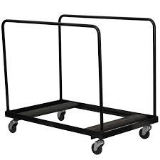 lifetime heavy duty table cart chair carts furniture rolling storage table stackable chair dolly