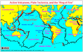Plate Tectonics Map The Geophile Pages Lessons Natural Disasters