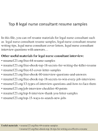 sample resume for consultant top8legalnurseconsultantresumesamples 150508093639 lva1 app6892 thumbnail 4 jpg cb 1431077847