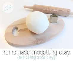 air modelling clay aka baking soda clay papa