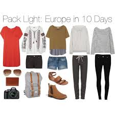 packing light for europe pack light europe in 10 days clothing pinterest packing light