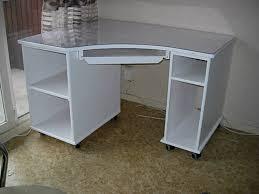 bureau laqué blanc bureau d angle laqué blanc louis l ébéniste