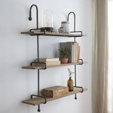 Kirklands Bathroom Vanity by Wooden Slatpipe Shelf Pipes Shelves And Farmhouse Ideas