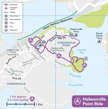 Map A Bike Route by Hobsonville Point Cycle Ride