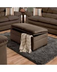 Upholstered Storage Ottoman Coffee Table Deal Alert Simmons Lakewood Upholstered Storage Ottoman Cappuccino