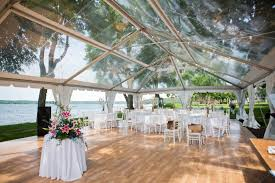 clear wedding tent clear top tents official blue peak tents