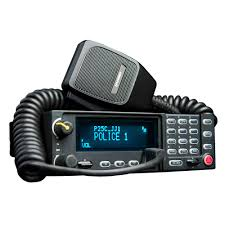 xg 75m two way mobile radio harris