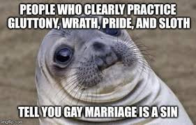 Gay Seal Meme Generator - happening a lot in missouri right now with yesterday s court
