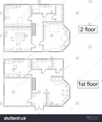 small 2 storey house plans philippines with blueprint design