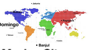 world map of capital cities world map with capital cities on white bg 1080p stock footage