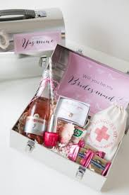 will you be my of honor gift will you be my bridesmaid lunch box by jen carreiro project